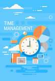 Clock Time Management Concept Abstract Royalty Free Stock Photography