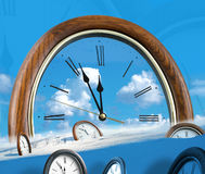 Clock and time Royalty Free Stock Photos