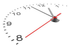 Clock and timestamp with numbers Stock Photos