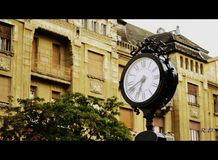 The clock Royalty Free Stock Photo