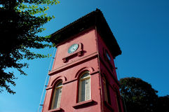 Clock tower. Old Clock tower royalty free stock image