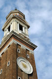 St. Marks Basilica Clock Tower Royalty Free Stock Images