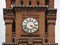The clock on tower Stock Image
