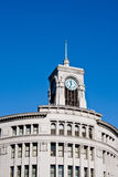 Clock tower. A day shot of the clock tower of Wako Department Store in Ginza, Tokyo Royalty Free Stock Photography