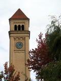 Clock Tower. Rivrfront Park Clock Tower in Spokane, WA Royalty Free Stock Image