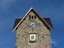 Clock tower. In Bariloche, Argentina Stock Images