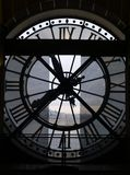 Clock Tower. In magic Paris stock image