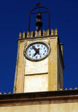 Clock in tower Royalty Free Stock Images