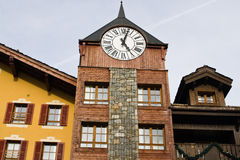 Clock-tower. Stock Images
