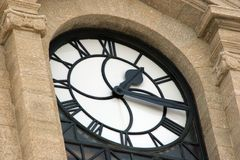 Clock tower. Old Clock Tower Royalty Free Stock Photo