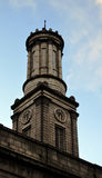 Clock tower on Aberdeen Arts Centre, Scotland Stock Photo