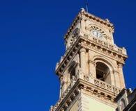 Clock Tower At Agios Minas Church In Heraklion Greece Royalty Free Stock Photography