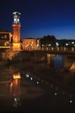Clock tower in Amasya, Turkey Stock Photography