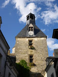 Clock Tower in Amboise Royalty Free Stock Photography