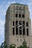 Clock Tower Ann Arbor. Clock Tower at University of Michigan Campus Stock Image