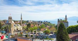 Clock Tower in Antalya, Turkey Royalty Free Stock Photography