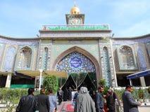 Free Clock Tower At Entrance Of Holy Shrine Of Husayn Ibn Ali, Karbala, Iraq Royalty Free Stock Image - 131317246