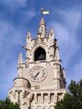 Clock tower in Avignon, France (Horloge). Clock tower of Hotel de Ville - Horlogel in Avignon, France Stock Image