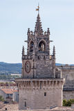 Clock tower Avignon Provence France Stock Images