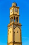 Clock tower at Bazar Aya in the old Medina of Casablanca, Morocco Royalty Free Stock Photos