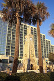 Clock Tower on the beach Stock Photography