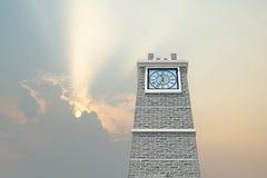 Clock tower royalty free stock photos