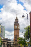 Clock tower in Belfast Royalty Free Stock Images