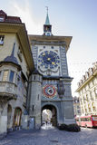 The Clock Tower in Bern, Switzerland Royalty Free Stock Photography