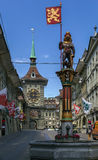 Clock tower, Bern Stock Images