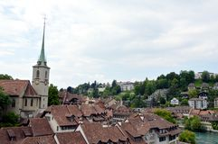 Clock tower at Berne Royalty Free Stock Image