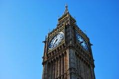 Clock Tower of Big Ben Stock Photo