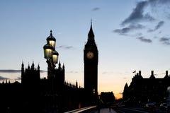 Clock tower Big Ben, London Royalty Free Stock Photos