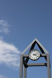 Clock Tower and blue sky Royalty Free Stock Image