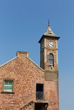 Clock tower with blue sky Royalty Free Stock Photos