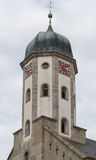 Clock tower in Buehlertann Stock Images