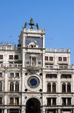 Clock tower building, Venice. Royalty Free Stock Photography