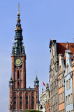 City of Gdansk, Poland. Stock Photography