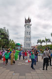 Clock tower in Bukittinggi Royalty Free Stock Photo