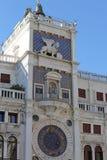 Clock Tower called Mori di Venezia in Venice in Italy Stock Photography