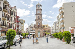 Clock Tower, Canakkale, Turkey Stock Images
