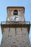 Clock tower Cannes Royalty Free Stock Photography