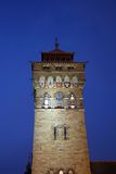 Clock Tower of Cardiff  Castle Stock Photos