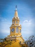 Clock Tower - Cartagena de Indias, Colombia stock image