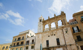 Clock Tower in the center of Bari, Italy Stock Photography