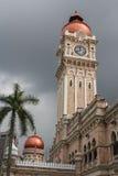 Clock tower in the center of Kuala Lumpur Stock Photos