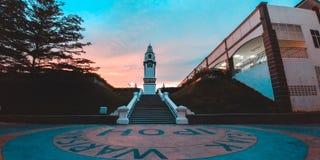 Jejak Warisan, Ipoh Perak, Malaysia. A clock tower in the centre of Ipoh, Perak, Malaysia Stock Image