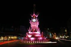 Clock tower in Chiang Rai, Thailand Stock Photo