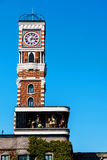 clock tower at Chocolate factory, Sapporo Royalty Free Stock Image
