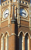 Clock Tower of the church royalty free stock image