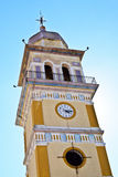 Clock Tower of the church of Agia Triada in Messo Gerakari, Zaky Stock Photos